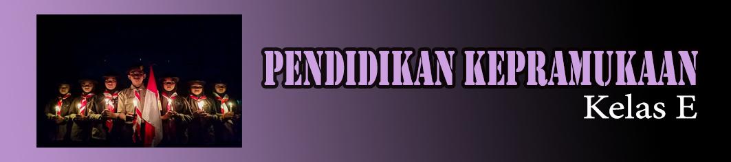2018 - E - PENDIDIKAN KEPRAMUKAAN