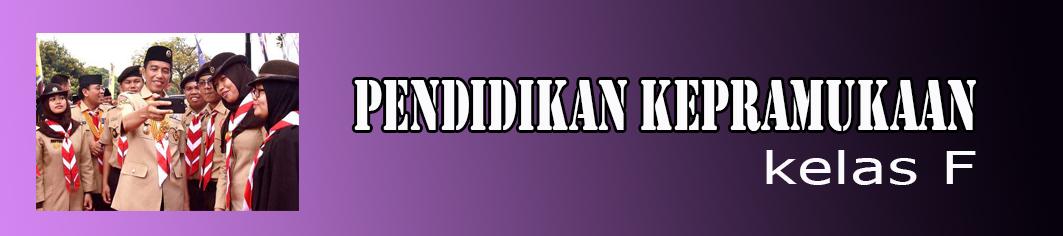 2018 - F - PENDIDIKAN KEPRAMUKAAN