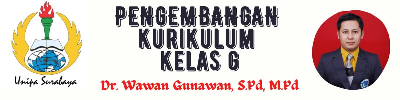 2020 - G - PENGEMBANGAN KURIKULUM SD