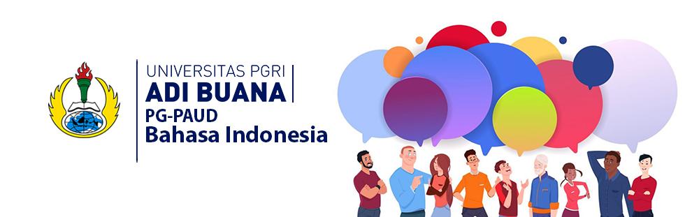 BAHASA INDONESIA 2019 PAUD A