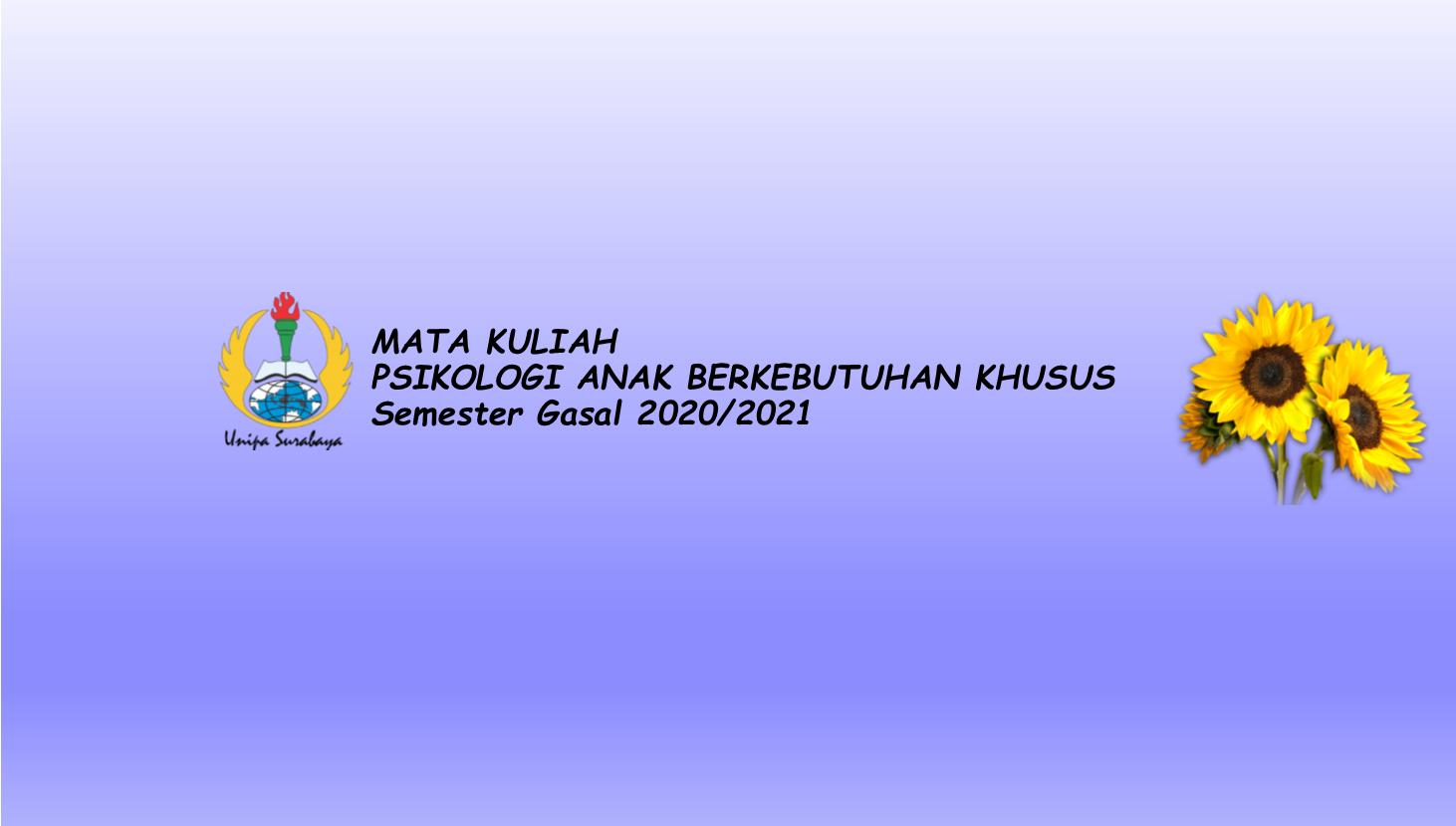 Psikologi ABK 2019 A